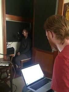 Recording Vampire Bride 2